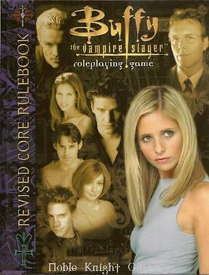 Eden Studios Horror RPG Buffy the Vampire Slayer (Revised Edition) HC NM-