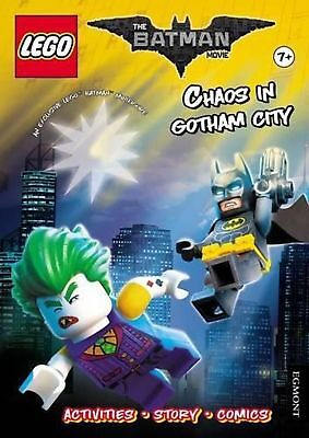 Lego the Batman Movie: Chaos in Gotham City (activity Book With Exclusive Batman
