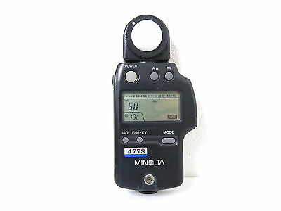 Minolta AUTO METER IV F Flash Light Meter FREE SHIPPING JAPAN#