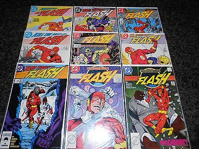 Flash (1987 Series) 1-9 (9 issue lot)