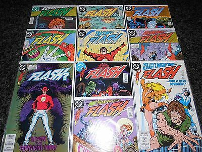 Flash (1987 Series) 20-29 (10 issue lot)