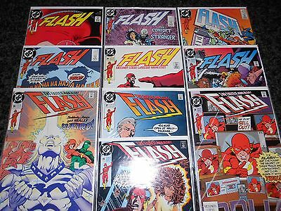 Flash (1987 Series) 30-39 (10 issue lot)