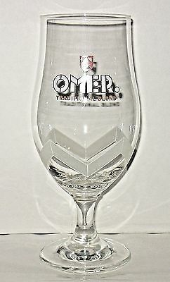Omer Beer Glass Traditional Blond Tall Stemmed Chalice