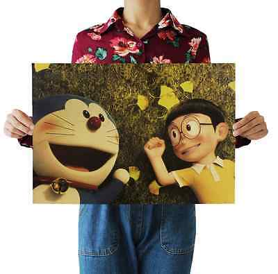 Anime Doraemon C Papery Posters Bedroom living room Background wall sticker