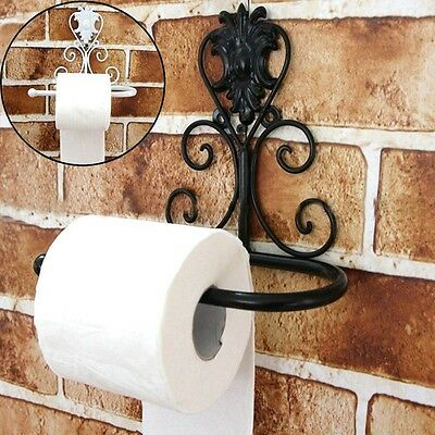 Luxury Oil Rubbed Bronze Wall Mounted Toilet Paper Holder Tissue Roll Holder