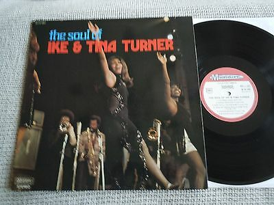 IKE AND TINA TURNER The Soul Of  FRENCH MUSIDISC LP NM