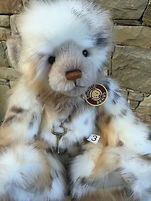 Helen Charlie Bears Fully Jointed 36 cm Plumo Plush Teddy Bear Hard To Find
