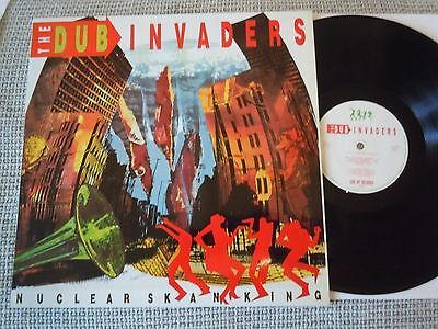 THE DUB INVADERS Nuclear Skanking GERMAN LP 1988 MINT