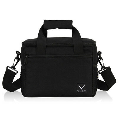 Insulated Lunch Tote Bag Cooler Box Portable Container Shoulder Bag Family Picni