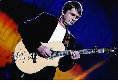 Genuine Mike Oldfield Hand Signed 12X8 Photograph Autograph Coa