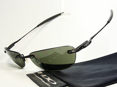 Oakley Why 8.0 Black Sonnenbrille Square Wire Nanowire 3 Whisker Tailhook Half X