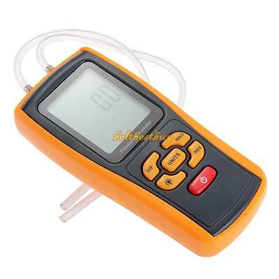 GM510 Portable USB Digital LCD Pressure Manometer Gauge Differential Range 10kPa