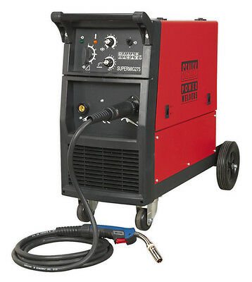 Sealey Tools Supermig275 Professional Mig Welder 270Amp 230V With Binzel Euro To