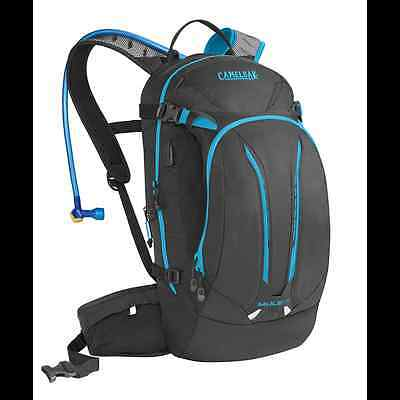 Brand NEW CamelBak Mule NV 3L Charcoal / Atomic Blue EXPRESS POST
