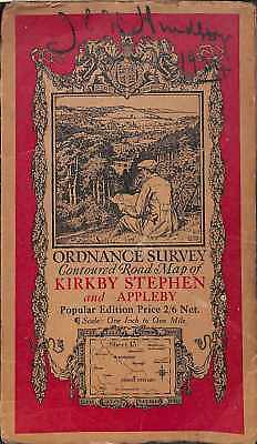 Ordnance Survey Contoured Road Map [One-inch Popular Edition], sheet 13, Kirkby