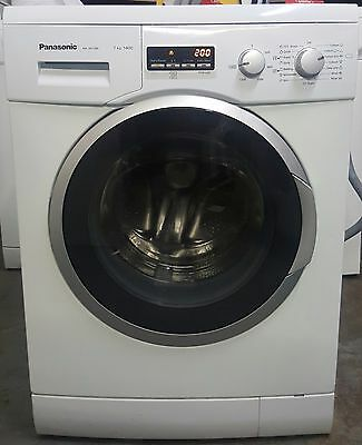 Panasonic Washing Machine - 7Kg Load - Fast 1400 Spin - Digital - White