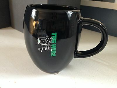 """HBO """"The Wire"""" Promotional Coffee Mug Bubbles Depot Cart"""
