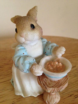 """My Blushing Bunnies Figurine Bunny   """"A mom like you is a blessing come true"""""""