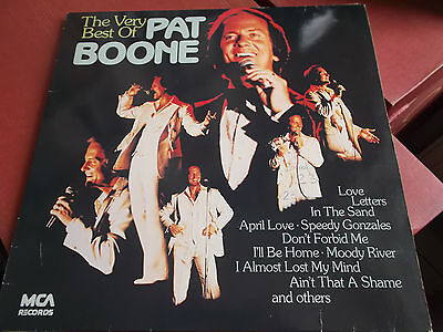 The Very Best Of Pat Boone: Vinyl Lp Made In Germany: Mca