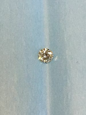 Loose Natural 0.28ct Round Brilliant Cut Diamond G VVS2
