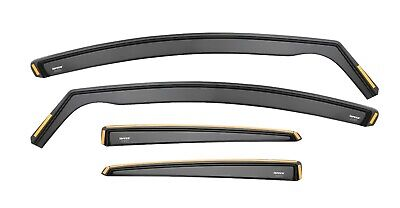 Wind Deflectors For Ford Focus lII MK3 4/5 doors 2012 - On Sun Visor 4-pc Tinted