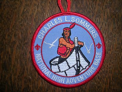 Charles L. Sommers Wilderness Canoe Base  Pocket Patch