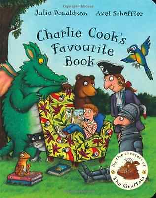 Charlie Cook's Favourite Book (BB), Donaldson, Julia, Good Condition Book, ISBN
