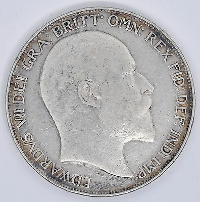 1902 Edward VII Crown Silver Great Britain Coin