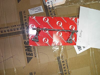 NOS Offenhauser offy Dual carb carburetor stromberg 97 holley 94 linkage
