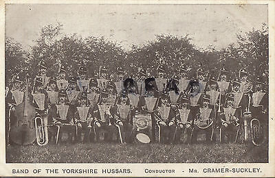Soldier group Yorkshire Hussars Yeomanry regimental band