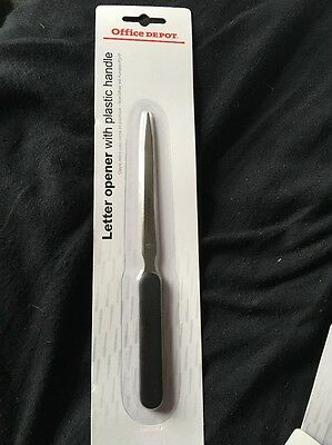 *LAST BATCH*Office Depot Letter Opener Home Office Stationary
