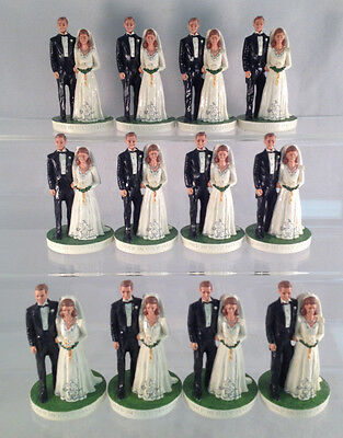 Lot of 12 Joined in Holy Matrimony Figurines - Great Christmas Gifts or Resale!