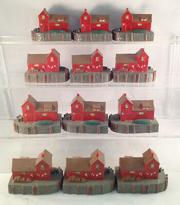 Lot of 12 Motif #1 in Rockport, MA Figurines - Great Christmas Gifts or Resale!