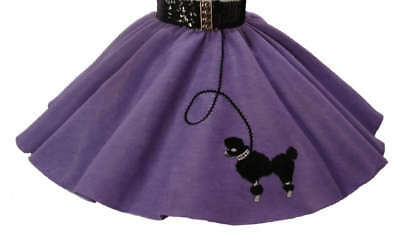 Lavender 50's POODLE SKIRT for BABY (6-9-12-18) months