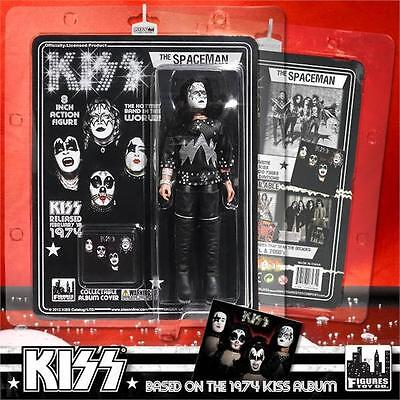 KISS First Album 8 Inch Action Figure Ace Frehley Spaceman