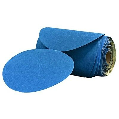 "3M Stikit 6"" Blue Abrasive Disc Rolls (1 Roll of 100 Discs) 120 Grade 36204"