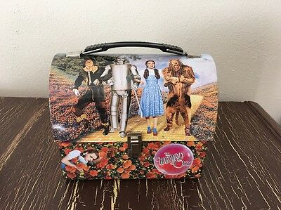 """the Wizard Of Oz"" Metal Lunch Box / Pail  Judy Garland"