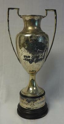 Huge 17 inch high REACH baseball trophy loving cup from Norristown Pennsylvania!