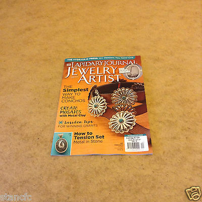 Lapidary Journal Jewelry Artist Dec 2016 Creative Ideas Tips How-To Tension Set