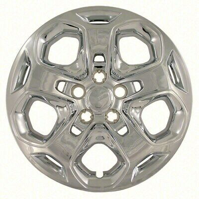 """New 2010 2011 2012 FORD FUSION 17"""" Chrome Bolt-on Hubcap Wheelcover SET of 4"""
