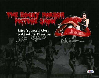 Nell Campbell/Patricia Quinn Signed Rocky Horror Auto 11x14 Photo PSA #AC59730