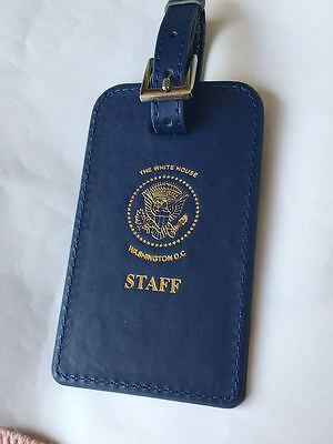 Gold Presidential Seal, Vip, White House Staff Luggage Tag (Set Of Two Tags)