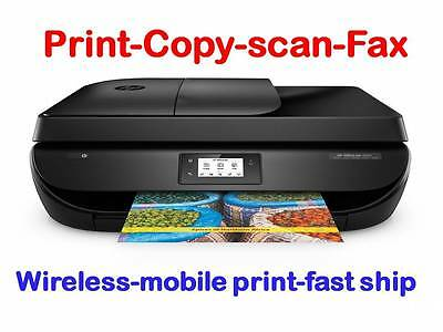 NEW HP OfficeJet 4650 (8710) Wireless Printer-scan-copy-Fax+Ink Included
