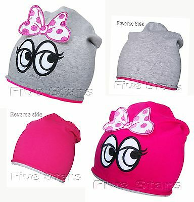 Baby toddler kid girl hat cotton embroidered reverse kids cap size 1-3-10 years