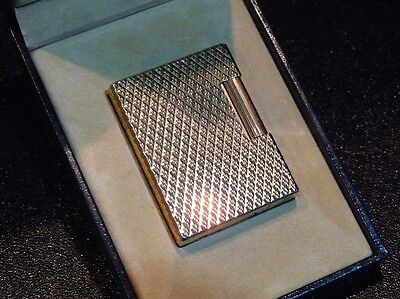 Beautiful S T Dupont Line1 Small Gold Plated Lighter-Comes Boxed
