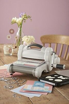 Big Shot Machine White/Grey Papercrafting Quilting Applique Embossing Home Decor