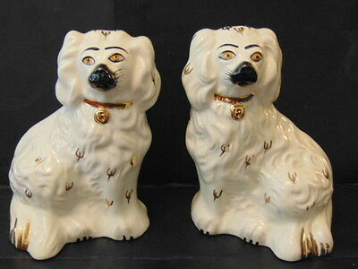 Royal Doulton 1378-6 Pattern Pair Of Hearth Dogs In Excellent Condition