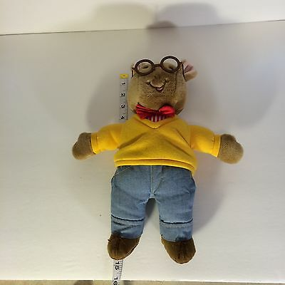 1996 Eden Arthur Plush Toy Stuffed Animal Doll with Tags Glasses PBS TV Show