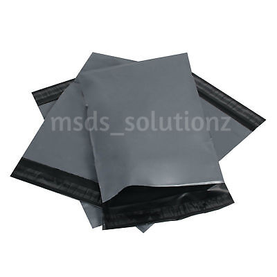 """Strong Grey 12X16""""/13X19"""" Large Self Seal Mailing Bags Polythene Postage Poly"""