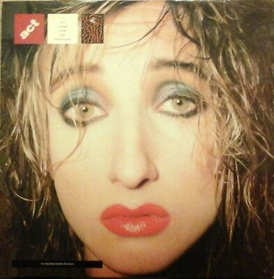 "ACT - I CAN'T ESCAPE FROM YOU 12"" VINYL SINGLE 1980s POP CLAUDIA BRUCKEN EX/EX"